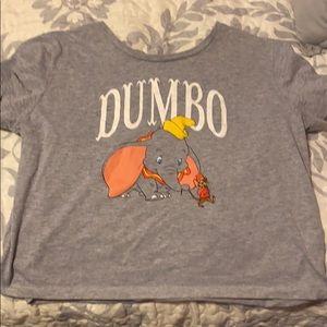 Dumbo Character Crop Top